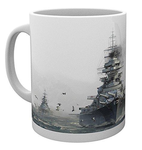 GB eye LTD World of Warships Bismark Tasse, Holz, 15 x 10 x 9 cm