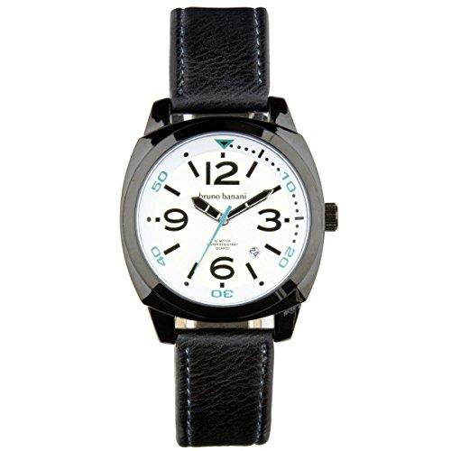 Bruno Banani Uhr Armbanduhr Ketos Leder Analog BR30017