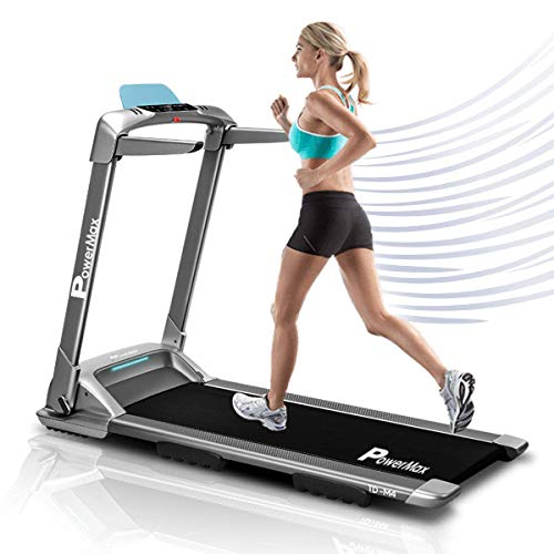 PowerMax Fitness TD-M4 2HP (4HP Peak) Motorized Treadmill with Free Installation Assistance, Home Use & Semi Automatic Lubrication