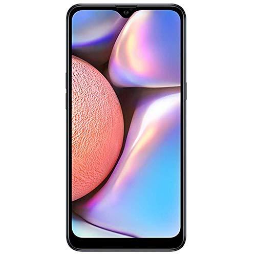 Samsung Galaxy A10s with Fingerprint (32GB, 2GB RAM) 6.2', Android 9.0, Dual SIM GSM Factory Unlocked A107M/DS - US + Global 4G LTE International Model (Blue, 32GB + 64GB SD Bundle)