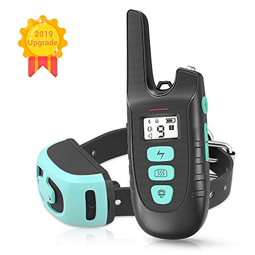 HOLDOG Dog Training Collar, Rechargable & Waterproof 1500FT Remote Dog Shock Collar with Beep, Vibration and Shock Electronic Collar for Small,Medium and Large Dogs (1.0)