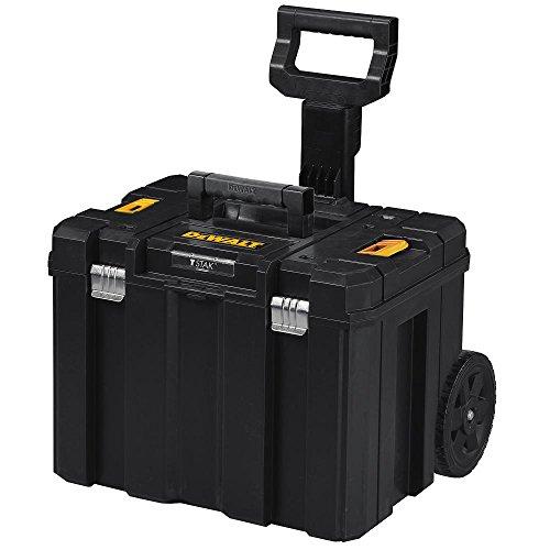 DEWALT Tool Box with Wheels, TSTAK, Deep Box (DWST17820)