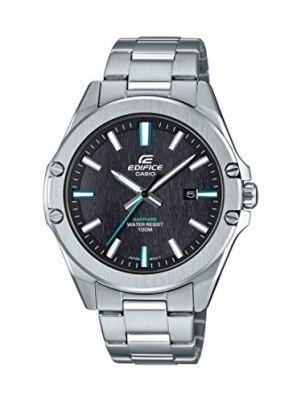 Casio Men's Quartz Stainless Steel Strap, Silver, 20 Casual Watch (Model: EFR-S107D-1AVCR)