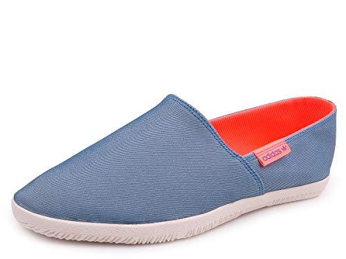 Adidas Adidrill - Alpargatas de lona para hombre , color Azul, talla 38 2/3 EU