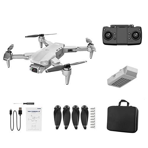 Drone pieghevole L900 con trasmissione 4 K WiFi FPV Live, GPS Drone con GPS e controllo gesti, ritorno a un pulsante, 4 canali, rotazione a 360, volo di volo e dronino pieghevole per principianti