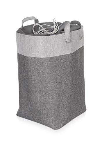 Möve Wäschekorb, Grey, Ø 30 x 50 cm
