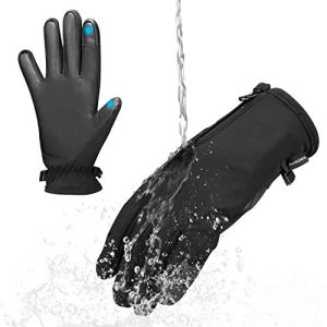 BANORES Oversize Winter Gloves, Touch Screen Sensitive Gloves Waterproof