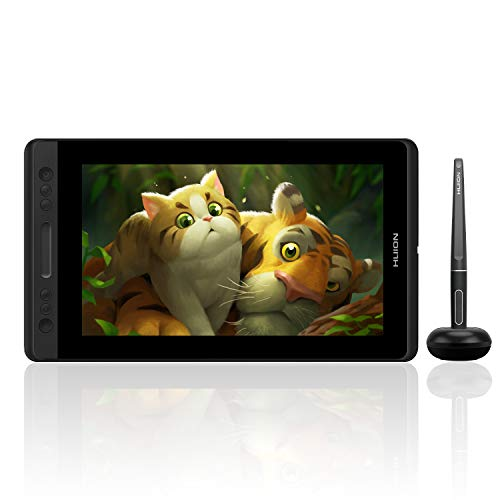 Huion KAMVAS Pro 13 GT-133 Pen Display Drawing Monitor 13.3 Inches Tilt Function Battery-Free Stylus 8192 Pen Pressure