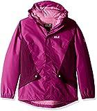 Jack Wolfskin Girl's G Kayak Falls Waterproof Insulated Jacket, Dark Peony, Size92(18-24)