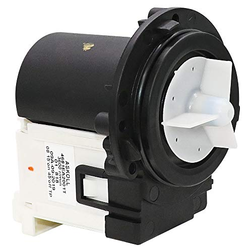 Appliancemate OEM Original 4681EA2001T Washer Drain Pump with Motor fit for LG Washers AP5328388,4681EA2001D,2003273-1YEAR WARRANTY