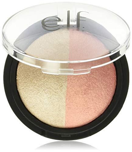 E.L.F Cosmetics Polvo Iluminador Y Rubor, Rose Gold 5.2 grams