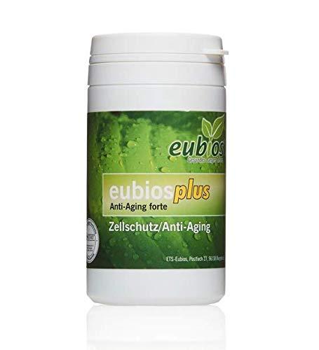 Eubios Plus, Antioxitantien, Anti-Aging FORTE mit OPC, Polypodium Leucotomos, Monatspackung, deutsche Herstellung
