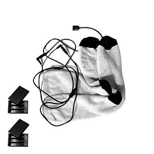 GHdfsad Calzini Riscaldati Aggiornati Calzini Elettrici A Batteria Per Uomini E Donne Calzini Termici Per Il Freddo Per Lo Sport Campeggio All'Aperto Escursionismo Pesca Ciclismo Invernali Caldi