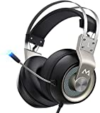 Mpow EG3 Pro - Over Ear Gaming Headset with 7.1 Surround Sound, Compatible with PC,PS4,Xbox...