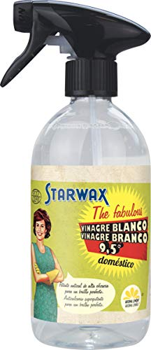 Starwax The Fabulous Vinagre Blanco de Limpieza 500ml - Desengrasante Multiusos, Antical y Quitamanchas