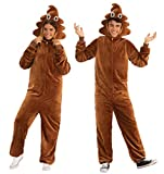 Rubie's Unisex-Adult's Opus Collection Comfy Wear Poop Costume, Brown, L-XL