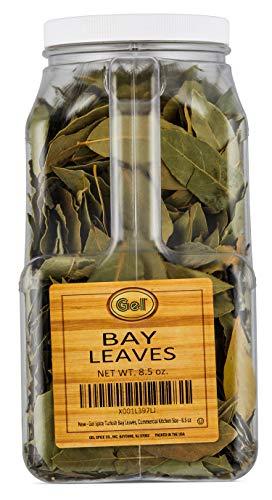 Gel Spice Turkish Bay Leaves ,Commercial Kitchen Size - 8.5 OZ