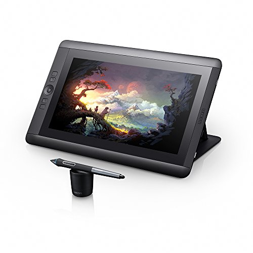 Display Interativo Cintiq 13' Wacom (Dtk1300), Wacom, Tablets de design gráfico, Mac e PC, Preto