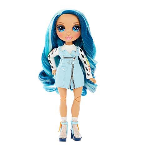 Image 3 - Rainbow High Poupée Mannequin - Skyler Bradshaw – Poupée thème bleu avec tenues luxueuses, accessoires et socle - Série 1 - Parfait pour les filles de 6 ans et plus