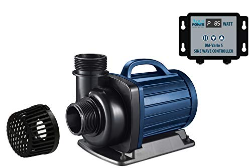 AquaForte Filter-/Teichpumpe DM-22.000 Vario S, 70-200W, Förderhöhe 7,5m, regelbar