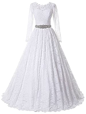 1,Main Fabric Lace;A Line Princess Style;Sewn with Beaded Sash. Size US 0 - US 22 And Custom Size Avaliable, Please Kindly Check the US Size Then Place The Order. 3,Occasion For Wedding Party, Evening Dress,Prom Dress And Other Special Ocassion. 4,No...