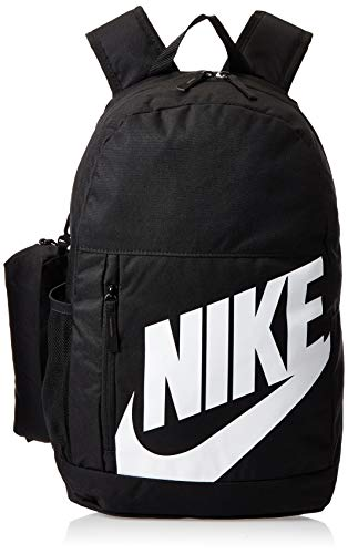 NIKE Youth Elemental Backpack - Fall'19, Black/Black/White, Misc