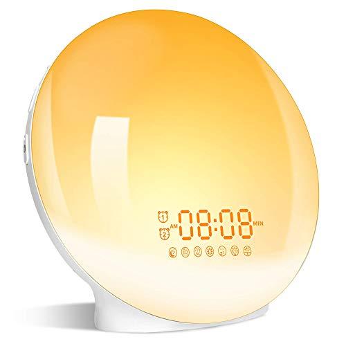 Wake Up Light LED Despertador, 2020 Luz Despertador Simulación...