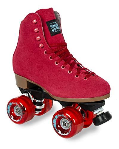 Sure-Grip Red Boardwalk Skates Outdoor