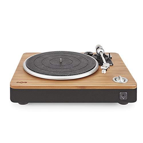 House of Marley Stir It Up Turntable Giradischi, 45/33 Giri, Piatto Lega di Alluminio, Braccio in...