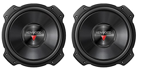 2 New Kenwood KFC-W3016PS 12' 4000 WATT Car Audio Subwoofers Subs Woofers 4 Ohm