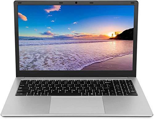 Laptop da 15,6 pollici (Intel Celeron 64 bit, 6 GB...