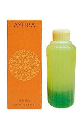 アユーラ (AYURA) メディテーションバスα 700mL ジャンボサイズ 〈浴用 入浴剤〉 アロマティックハーブの香り