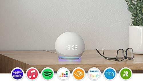 Nuevo Echo Dot (4.ª generación) | Altavoz inteligente con reloj...