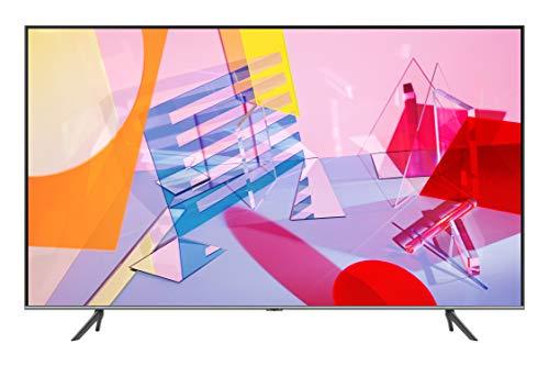 Samsung QE43Q64TAUXZT Serie Q64T QLED Smart TV 43', Ultra HD 4K, Wi-Fi, Silver, 2020, Esclusiva...