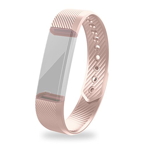 Replaceable Wristbands for iksee Fitness Tracker ID115 (Pink)