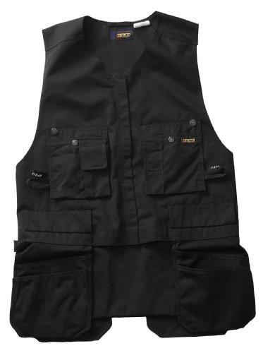 Blaklader Workwear Roughneck Kangaroo Vest, Large - 11-Ounce Cotton - Black