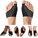 Copper Compression Bunion Corrector Relief Sleeve & Bunion Cushions for Women Men Guaranteed Highest Copper Bunion Pads Bootie Cushion Sleeves Relief Bunions Hallux Valgus Feet 1 Pair