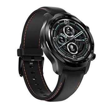 Ticwatch Pro 3 GPS Montre Connectée pour Hommes et Femmes, Wear OS by Google, Afficheur Double Couche 2.0, Longue durée de Vie de la Batterie