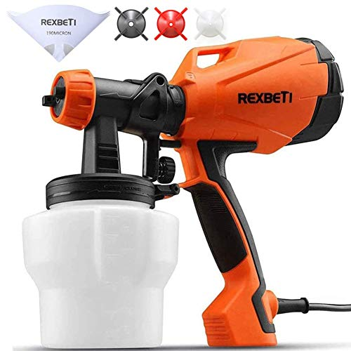 REXBETI Ultimate-750 Paint Sprayer, High Power Hvlp Home Electric...