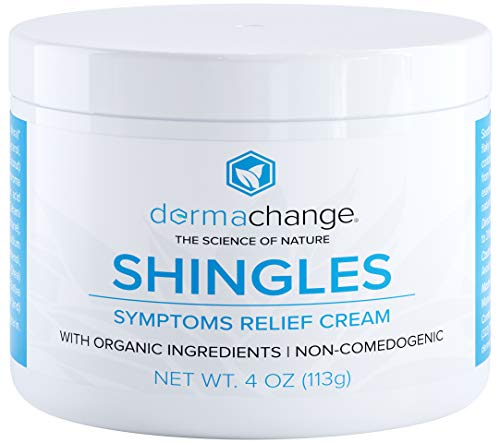 Organic Shingles Treatment and Relief Cream - with...