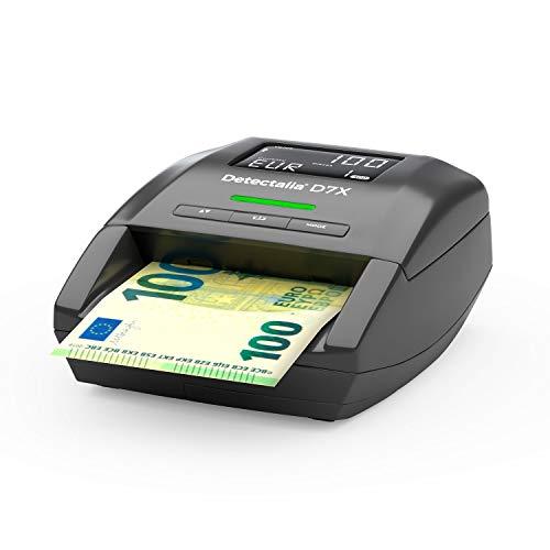 Detectalia D7X - Detector automático de billetes falsos par
