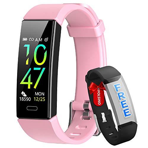 HOFIT Pulsera Actividad Reloj Inteligente Fitness Tracker...
