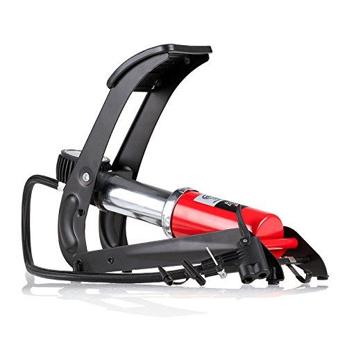 HEYNER 215000- Bomba de pie de Primera Calidad, con Pedal