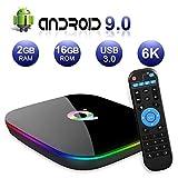 Android TV Box , Q Plus TV Box Android 9.0 with 2Go RAM 16Go ROM H6 Quad Core...
