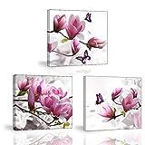 Piy Painting Impression sur Toile, Tableau de élégant Fleurs Orchidée, Tableau...