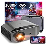 Proyector WiFi Bluetooth 8000 Lúmenes, Artlii Energon2 Proyector Full HD 1080P Nativo Soporta 4K,...