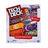 Tech-Deck Sk8shop Bonus Pack 6 Pack 96mm Fingerboards (Real)