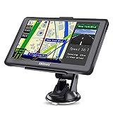 GPS Voitures 7 Pouces Écran Tactile, avec Cartes gratuites de 48 Pays...