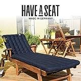HAVE A SEAT Luxury – Liegenauflage, Auflage Gartenliege - 7