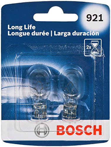 Bosch 921 Long Life Upgrade Minature Bulb, Pack of 2